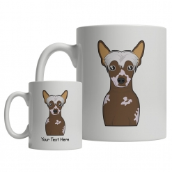 Chinese Crested Dog Cartoon Mug