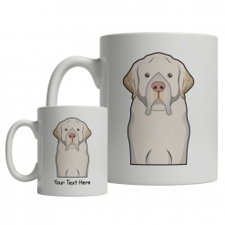 Clumber Spaniel Cartoon Mug
