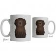 Curly Coated Retriever Coffee Mug