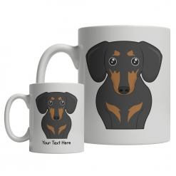 Dachshund Cartoon Mug
