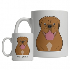 Dogue de Bordeaux Cartoon Mug