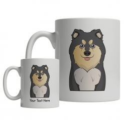 Finnish Lapphund Cartoon Mug