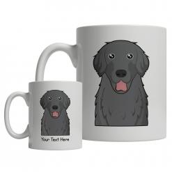 Flat-Coated Retriever Cartoon Mug