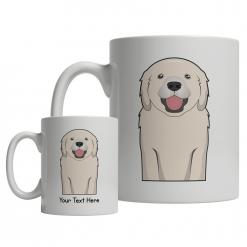 Golden Retriever Cartoon Mug