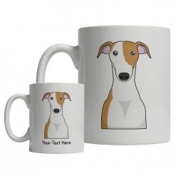 Greyhound Cartoon Mug
