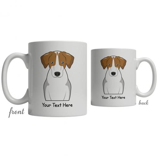Harrier Cartoon Coffee Cup