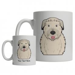 Irish Wolfhound Cartoon Mug