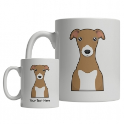 Italian Greyhound Cartoon Mug
