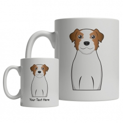 Jack Russell Terrier Cartoon Mug