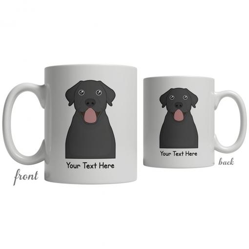 Labrador Retriever Cartoon Coffee Cup