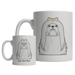 Maltese Cartoon Mug