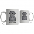 English Mastiff Cartoon Coffee Cup
