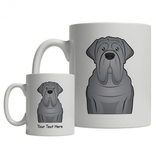 English Mastiff Cartoon Mug