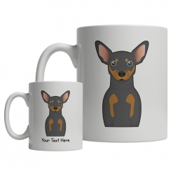 Miniature Pinscher Cartoon Mug