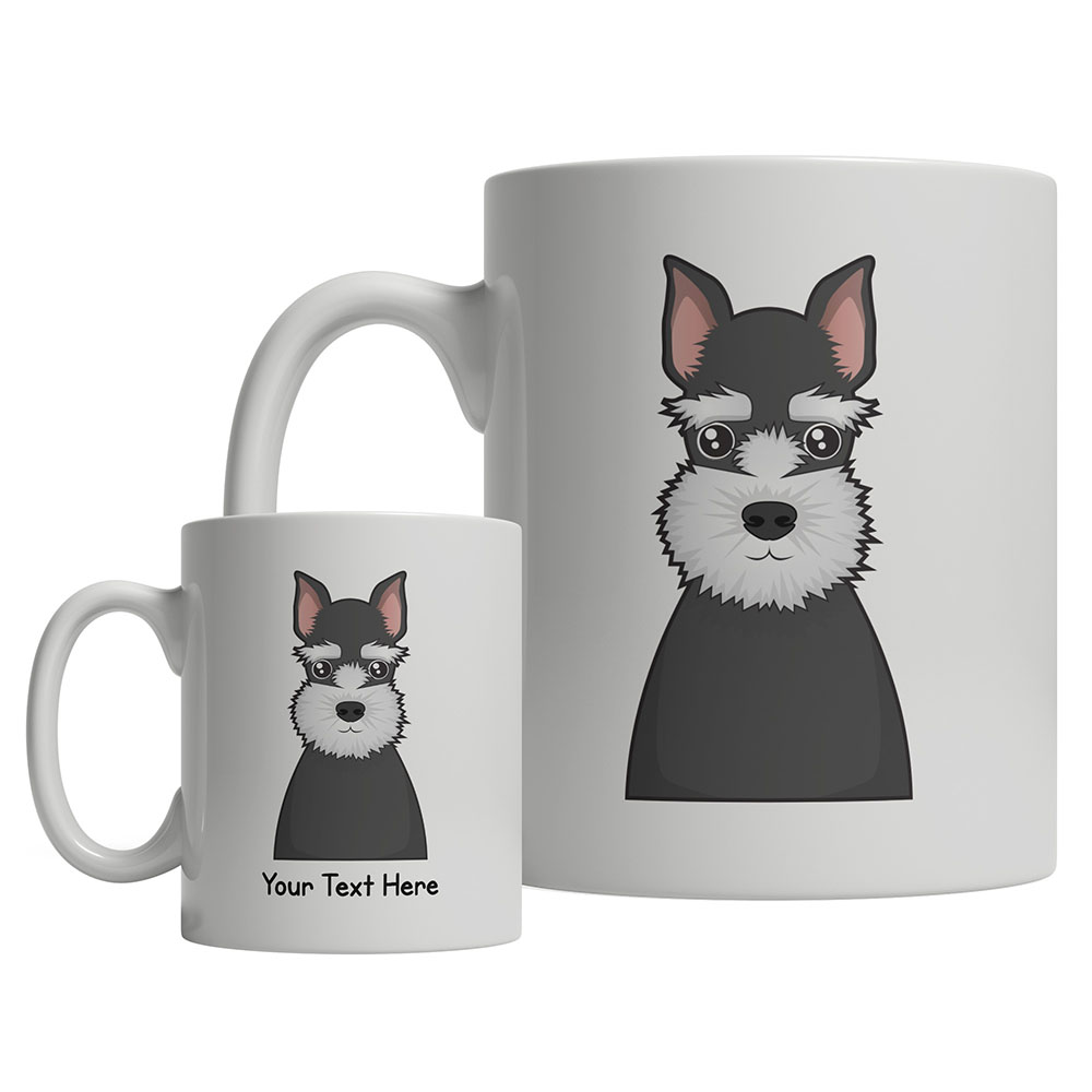 Schnauzer Mug Schnauzer Cup Schnauzer Coffee Mug Personalized Dog Mug