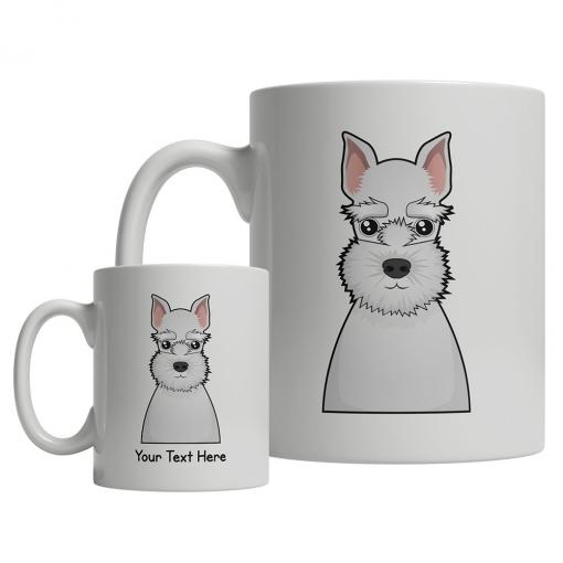 Miniature Schnauzer Cartoon Mug