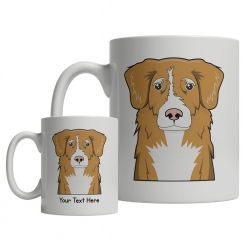 Nova Scotia Duck Tolling Retriever Cartoon Mug
