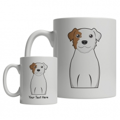 Parson Russell Terrier Cartoon Mug
