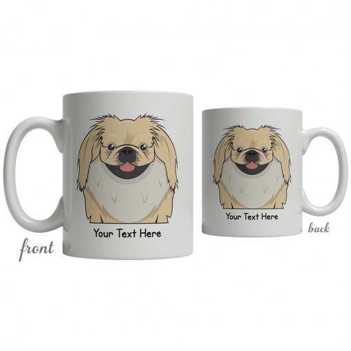 Pekingese Cartoon Coffee Cup