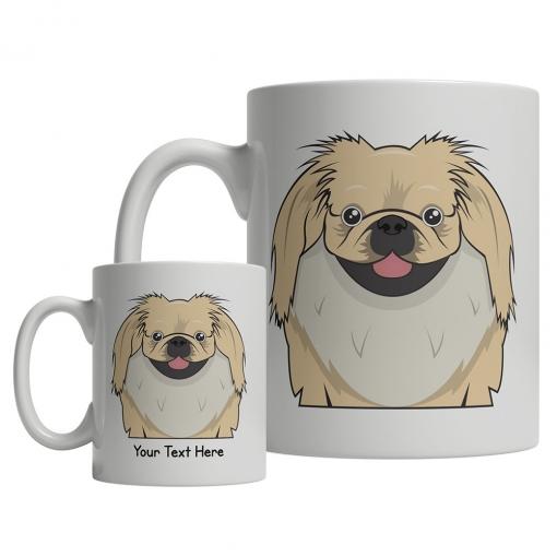 Pekingese Cartoon Mug
