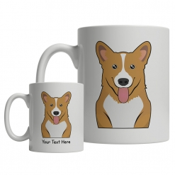 Pembroke Welsh Corgi Cartoon Mug