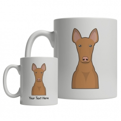 Pharaoh Hound Cartoon Mug