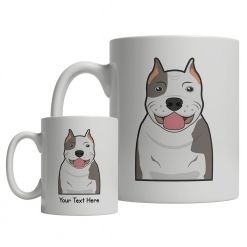 Pitbull Cartoon Mug