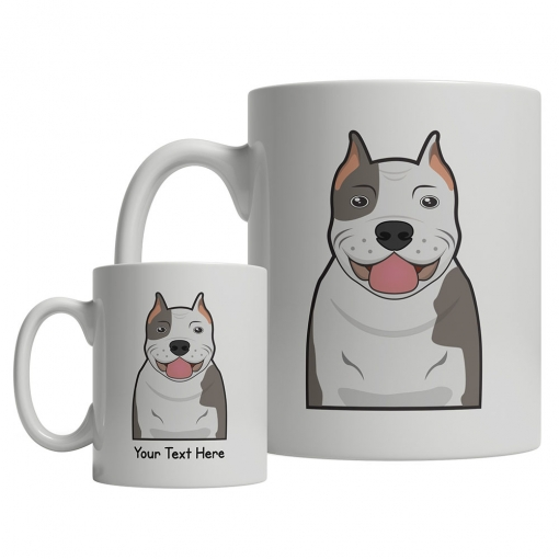Pitbull Cartoon Mug