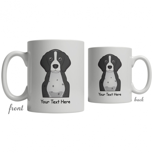 English Pointer Cartoon Coffee Cup