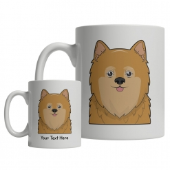 Pomeranian Cartoon Mug