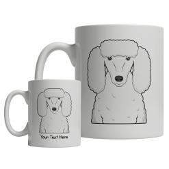 Poodle Cartoon Mug