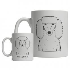 Poodle Cartoon Mug