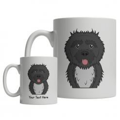 Portuguese Water Dog Cartoon Mug