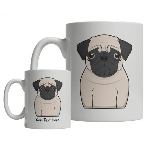 Pug Cartoon Mug