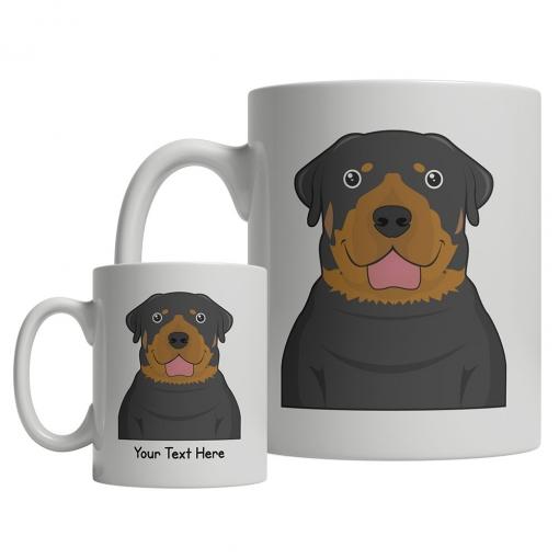Rottweiler Cartoon Mug