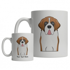 Saint Bernard Cartoon Mug