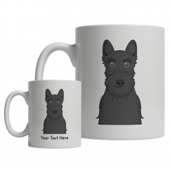 Scottish Terrier Cartoon Mug