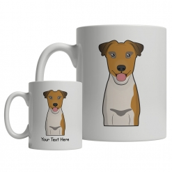 Smooth Fox Terrier Cartoon Mug
