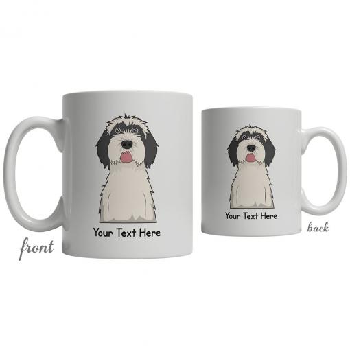 Tibetan Terrier Cartoon Coffee Cup