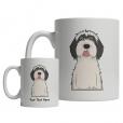 Tibetan Terrier Cartoon Mug
