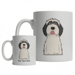 Tibetan Terrier Cartoon Mug