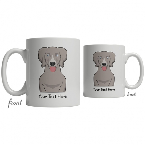 Weimaraner Cartoon Coffee Cup