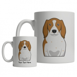Welsh Springer Spaniel Cartoon Mug