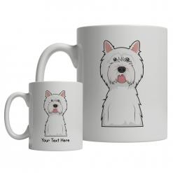 West Highland White Terrier Cartoon Mug