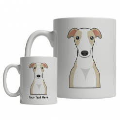 Whippet Cartoon Mug