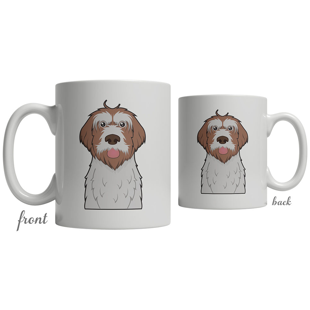 Wirehaired Pointing Griffon Dog Cartoon Coffee Mug ...