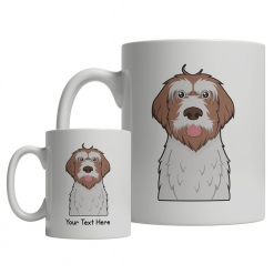Wirehaired Pointing Griffon Cartoon Mug