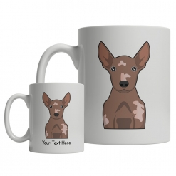Xoloitzcuintli Cartoon Mug
