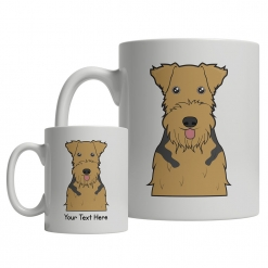 Airedale Terrier Cartoon Mug