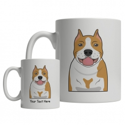 American Staffordshire Terrier Cartoon Mug